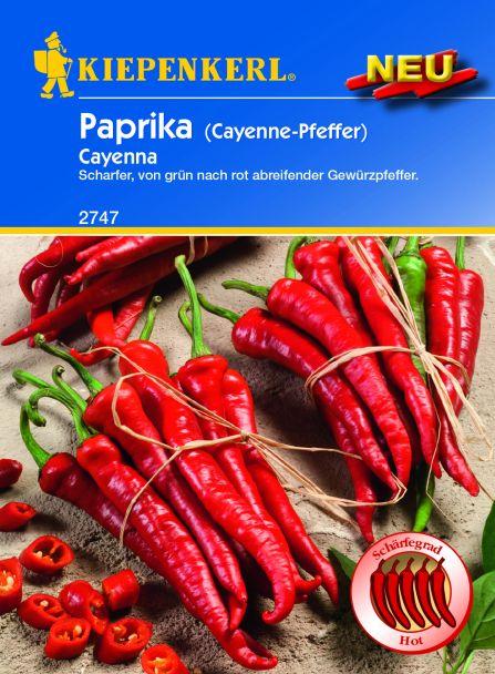 Paprika 'Cayenna'