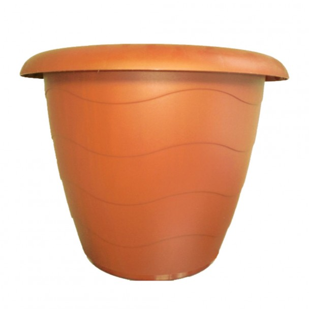 Pflanzkübel 'Lugano' Terracotta Ø 33 cm