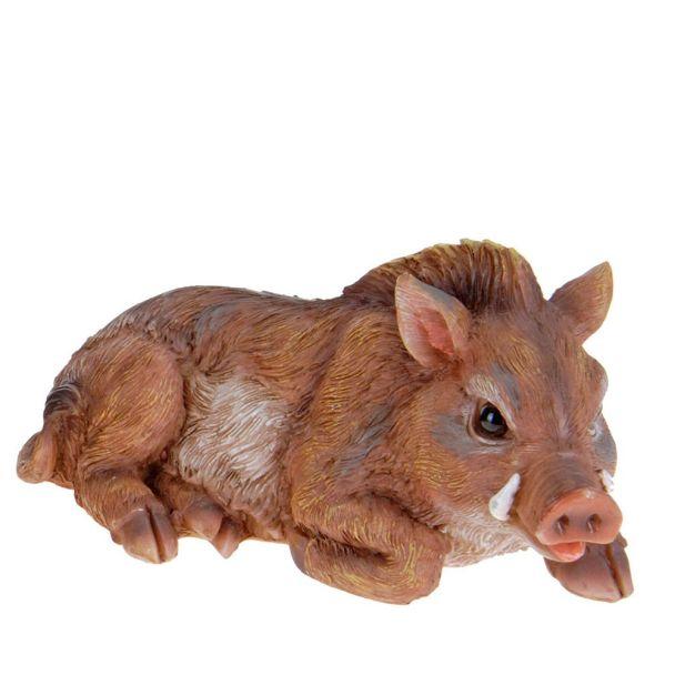 Deko Wildschwein, liegend