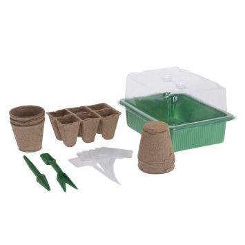 Pflanzenanzucht Set 17-teilig
