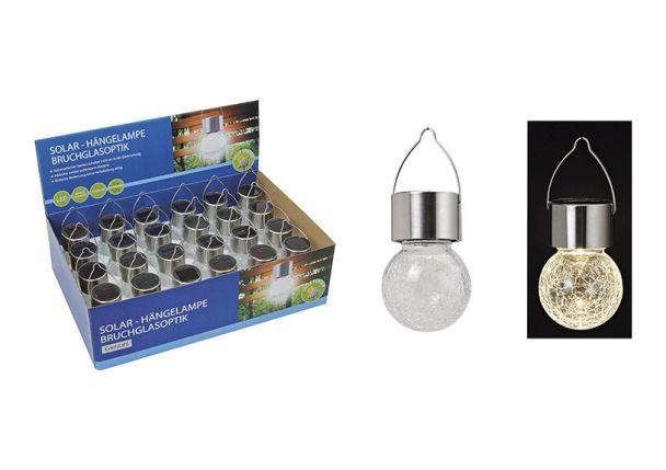 LED Hänge-Solarleuchte, 9 x 6 cm