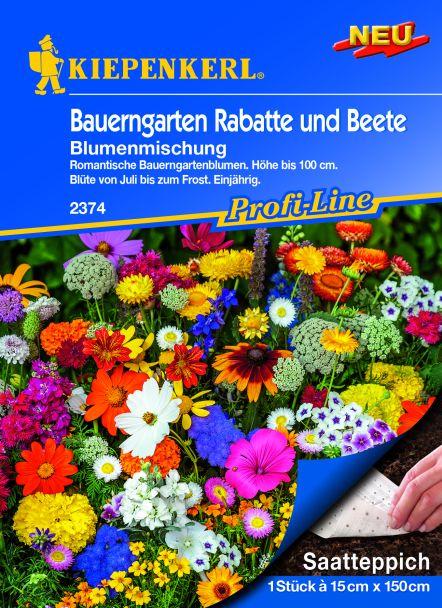 Blumenmischung Bauerngarten (Saatteppich)