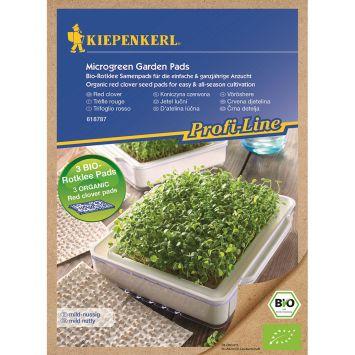 ProfiLine Bio Rotklee Nachfüllpads für MicroGreen Garden