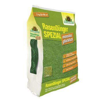 Rasendünger Spezial mooslos glücklich, 5 kg (1 kg = € 4,00 )