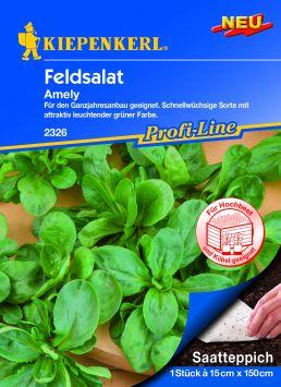 Feldsalat Amely - Saatteppich
