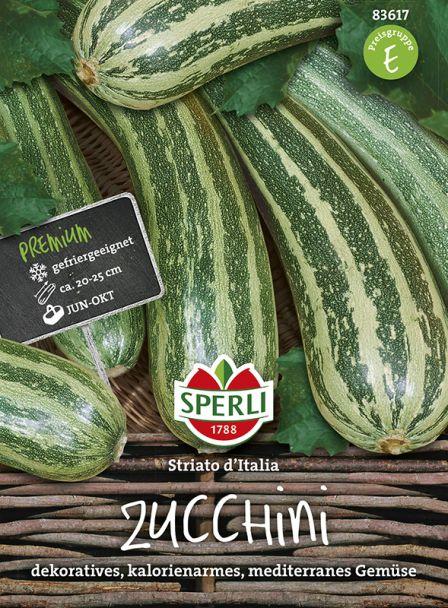 Zucchini 'Striato d'Italia'