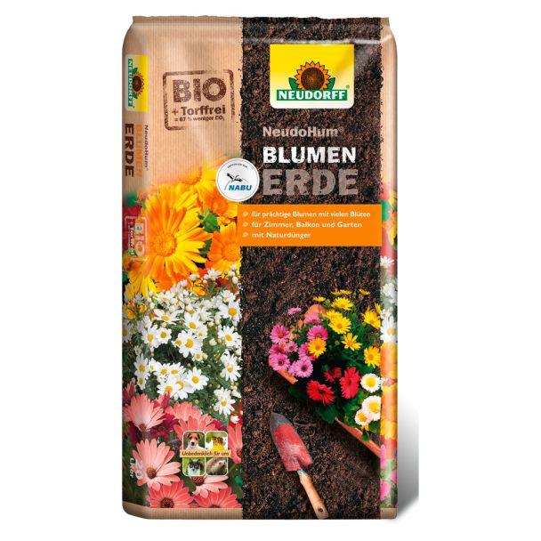 NeudoHum® Blumenerde 20 Liter (1 l / € 0,32)
