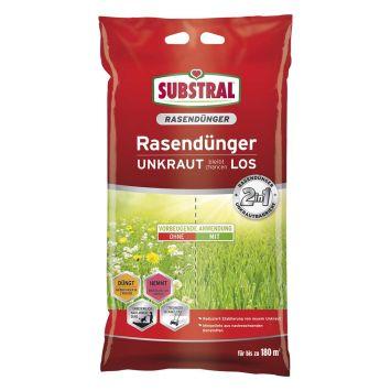 Substral Rasendünger Unkraut bleibt Chancenlos,9,1kg f.180 m² (1 kg = € 6,59)