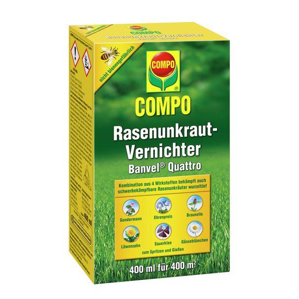 COMPO Rasenunkraut-Vernichter Banvel® Quattro, 400 ml (100 ml = € 6,25)