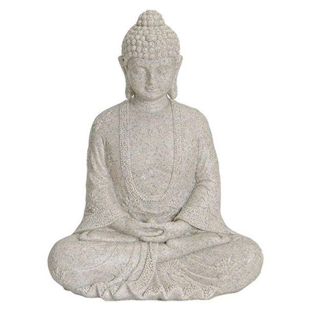 Buddha, 19 x 13 x 23 cm, beige