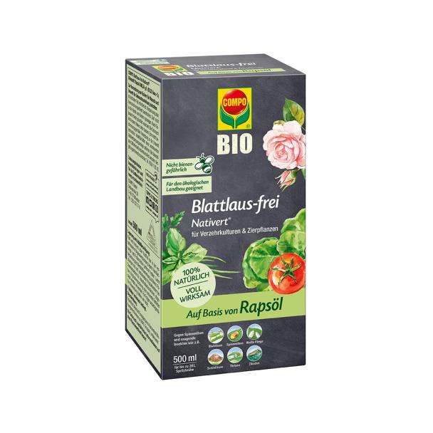 COMPO Nativert® Blattlaus-frei - Konzentrat, 500 ml (100 ml = € 2,60)