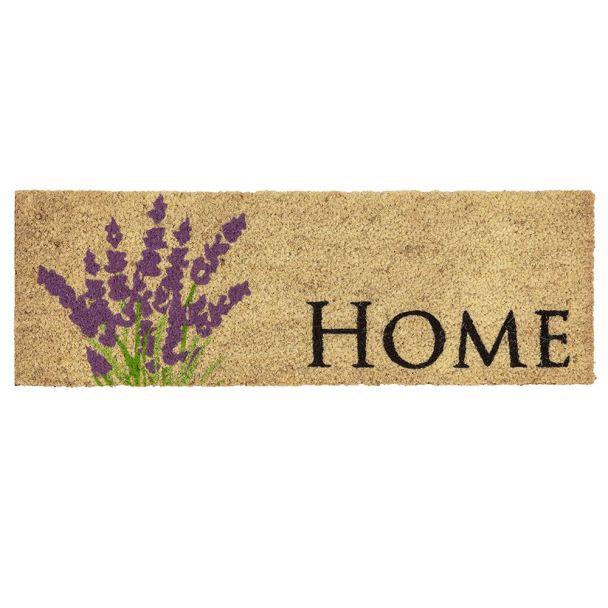ASTRA Fußmatte Coco Style 'Lavendel' 25 x 75 cm