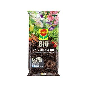 COMPO Bio Universal-Erde torffrei - 20 l Beutel, (1 l / € 0,40)