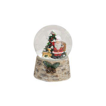 Spieluhr/Schneekugel Nikolaus