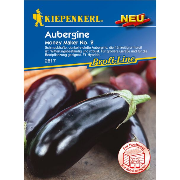 Aubergine Moneymaker, F1