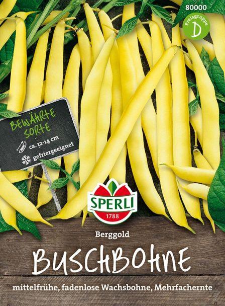 Buschbohnen 'Berggold'