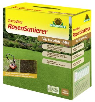 Neudorff TerraVital Rasensanierer Vertikutier-Mix, 4,5 kg (100 g / € 0,71)