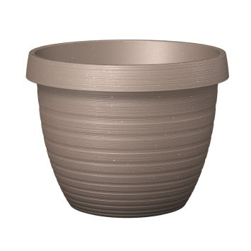 'Country Star®' Living Taupe 40 cm Pflanzgefäß
