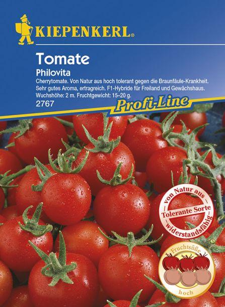 Tomaten (Kirschtomaten) 'Philovita' F1