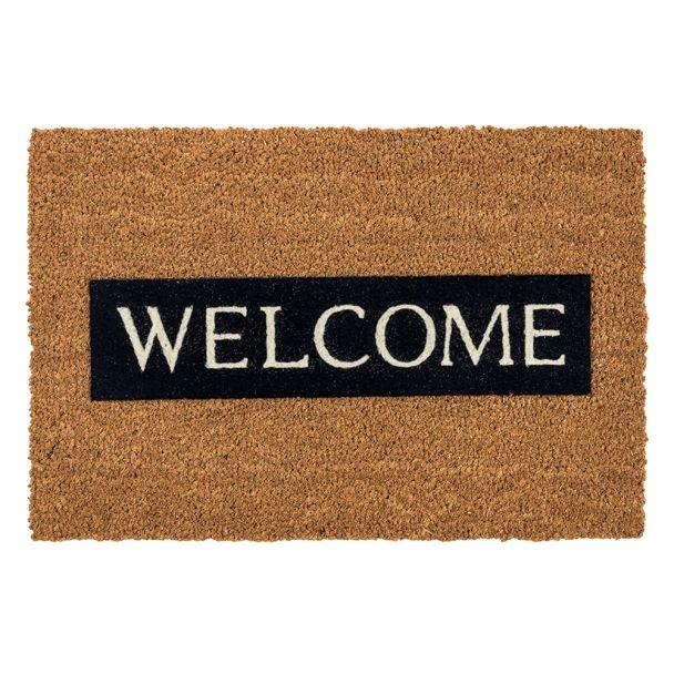ASTRA Fußmatte Coco Design 'Welcome'