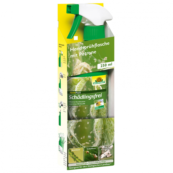 Neem Plus 'Schädlingsfrei' 250ml - anwendungsfertig (100 ml / € 4,00)