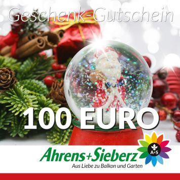 Geschenk-Gutschein, Wert 100 Euro Weihnachtskugel