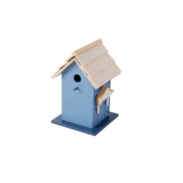 Vogelvilla, blau