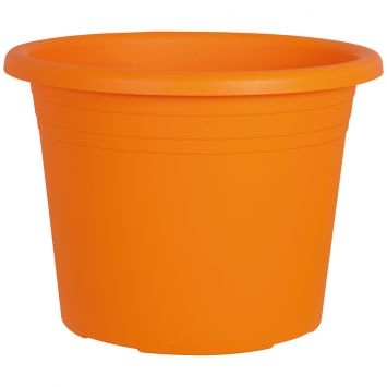 Blumentopf 'Cylindro', orange, Ø 30 cm