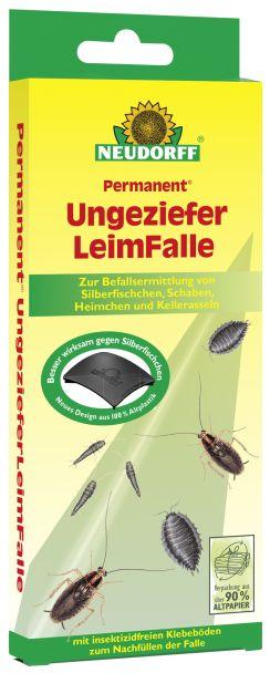 Neudorff Permanent® Ungeziefer Leimfalle