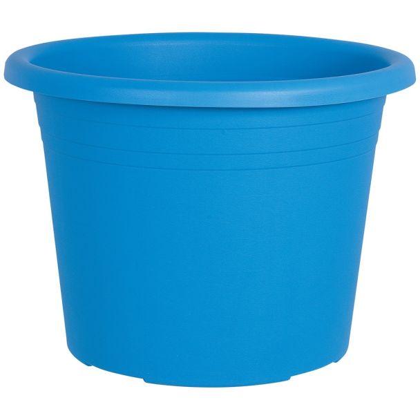 Blumentopf 'Cylindro', hellblau, Ø 40 cm