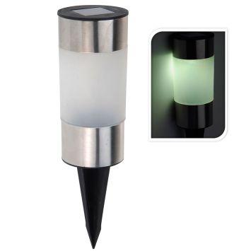 Solarlampe LED, 22,5 cm, aufladbar