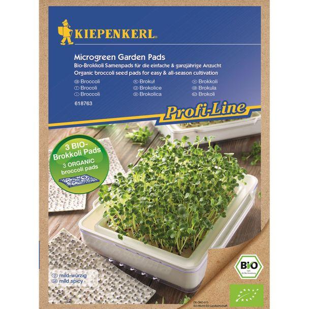 ProfiLine Bio Brokkoli Nachfüllpads für MicroGreen Garden
