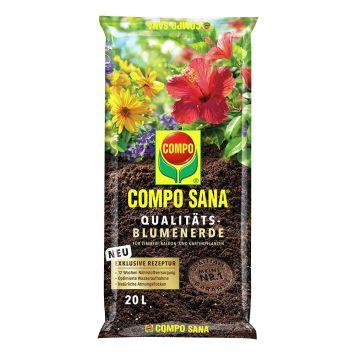 COMPO SANA® Qualitäts-Blumenerde 20l (1 l = € 0,37)