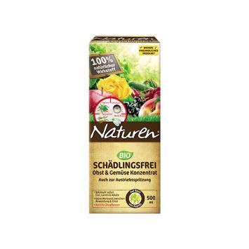 Naturen® BIO SCHÄDLINGSFREI - Obst und Gemüse Konzentrat  500 ml (100 ml / € 3,00)