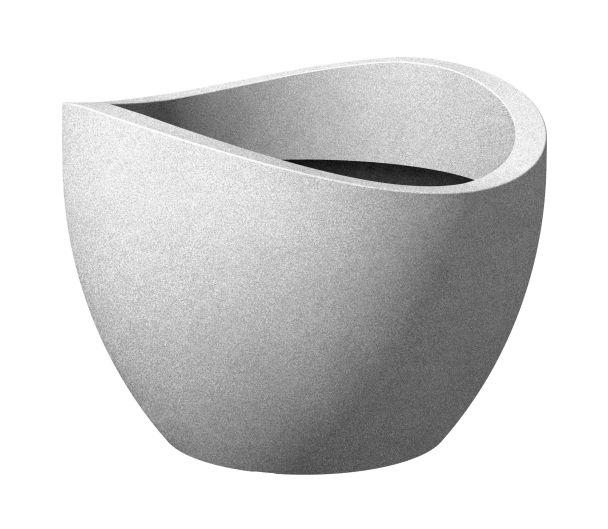 Wave globe Stony Grey 30cm