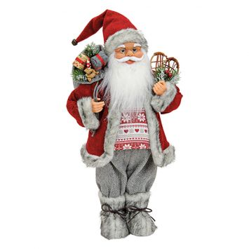 Nikolaus in rot, 46cm