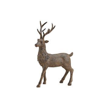 Hirschfigur in antik-braun