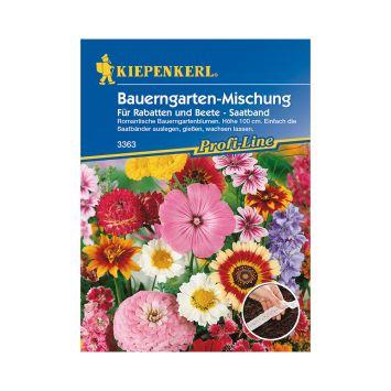 Bauerngarten-Mischung 'Für Rabatten und Beete' (Saatband)