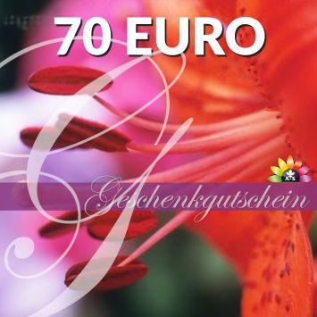 Geschenk-Gutschein, Wert 70 Euro Flower Power