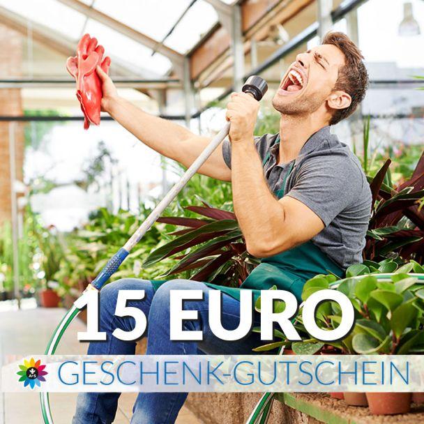 Geschenk-Gutschein, Wert 15 Euro Sänger