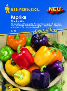 Paprika blocky Mix F1
