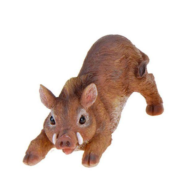 Deko Wildschwein, streckend