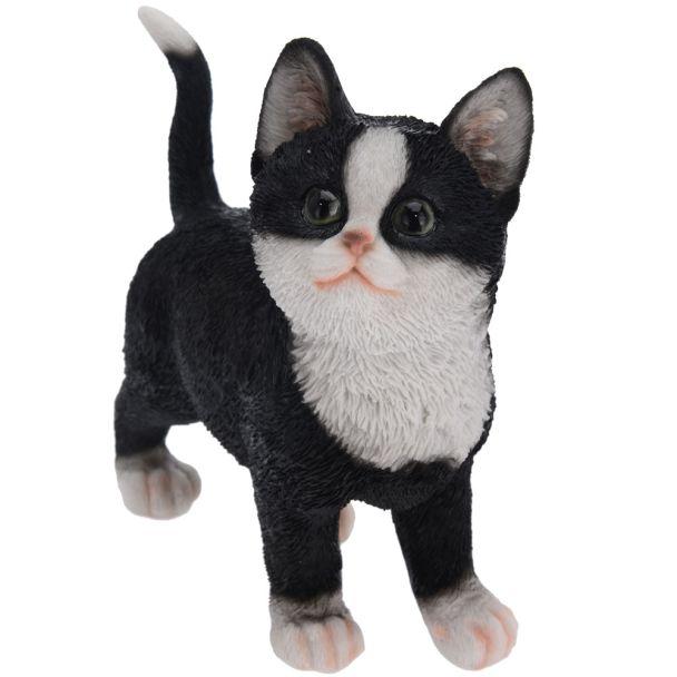 Deko Katze, schwarz