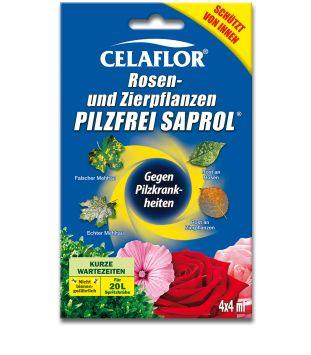 Celaflor® Rosen- und Zierpflanzen Pilzfrei Saprol, 4 x 4 ml