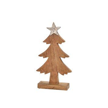 Baum aus Mangoholz mit Stern