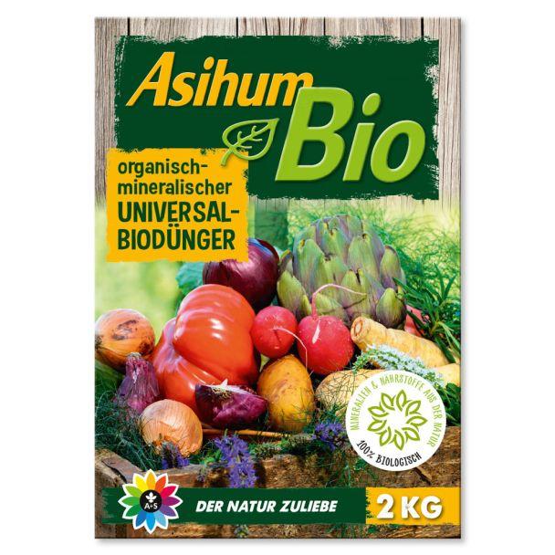 Asihum Bio Universaldünger 2 kg