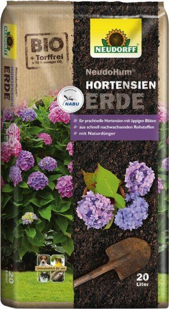 NeudoHum® HortensienErde, 20 Liter