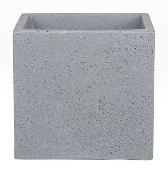 'C-Cube®' Stony Grey 30 x 30cm Pflanzgefäß