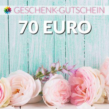 Geschenk-Gutschein, Wert 70 Euro Pfingstrosen