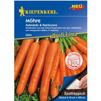 Möhren-Mix F1 (Saatteppich)